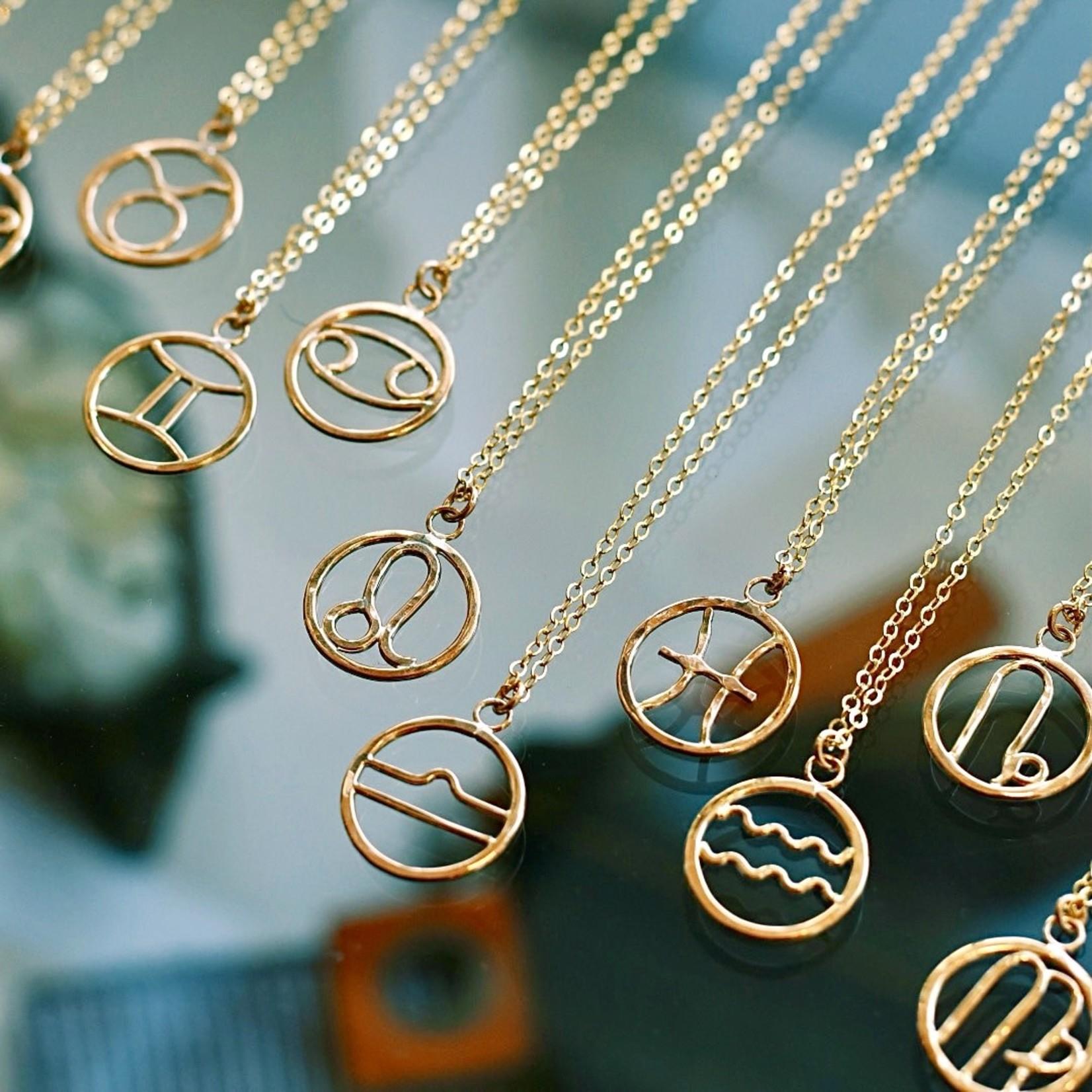 "Sun & Selene 18"" Zodiac Charmer Necklace"