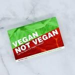 Bubblegum Stuff Vegan Not Vegan Card Game