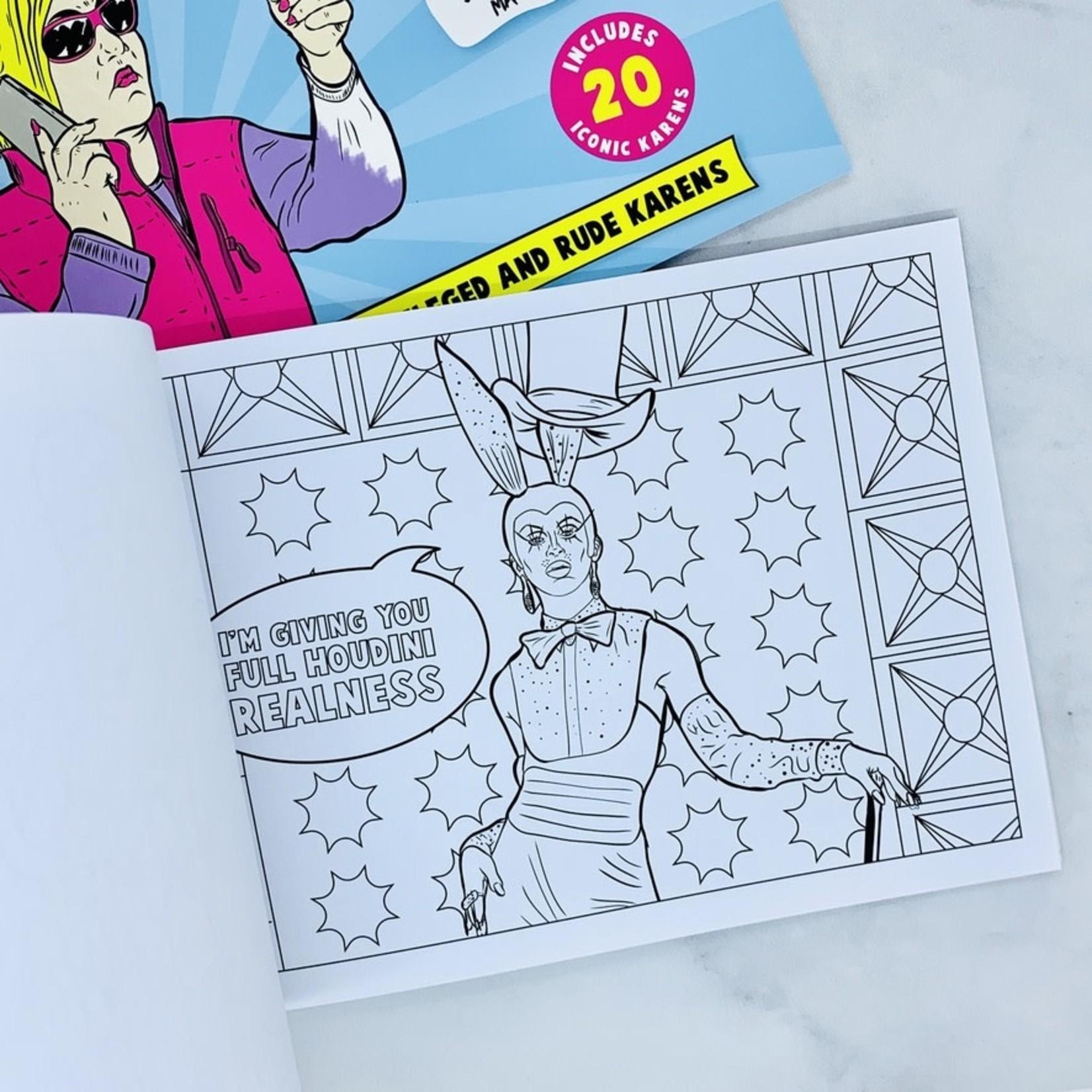 Bubblegum Stuff Drag Queen Coloring Book