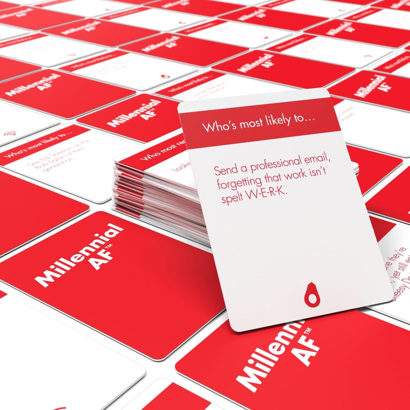 Bubblegum Stuff Millennial AF Card Game