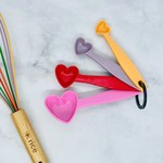 Rice by Rice Melamine Heart Measuring Spoons