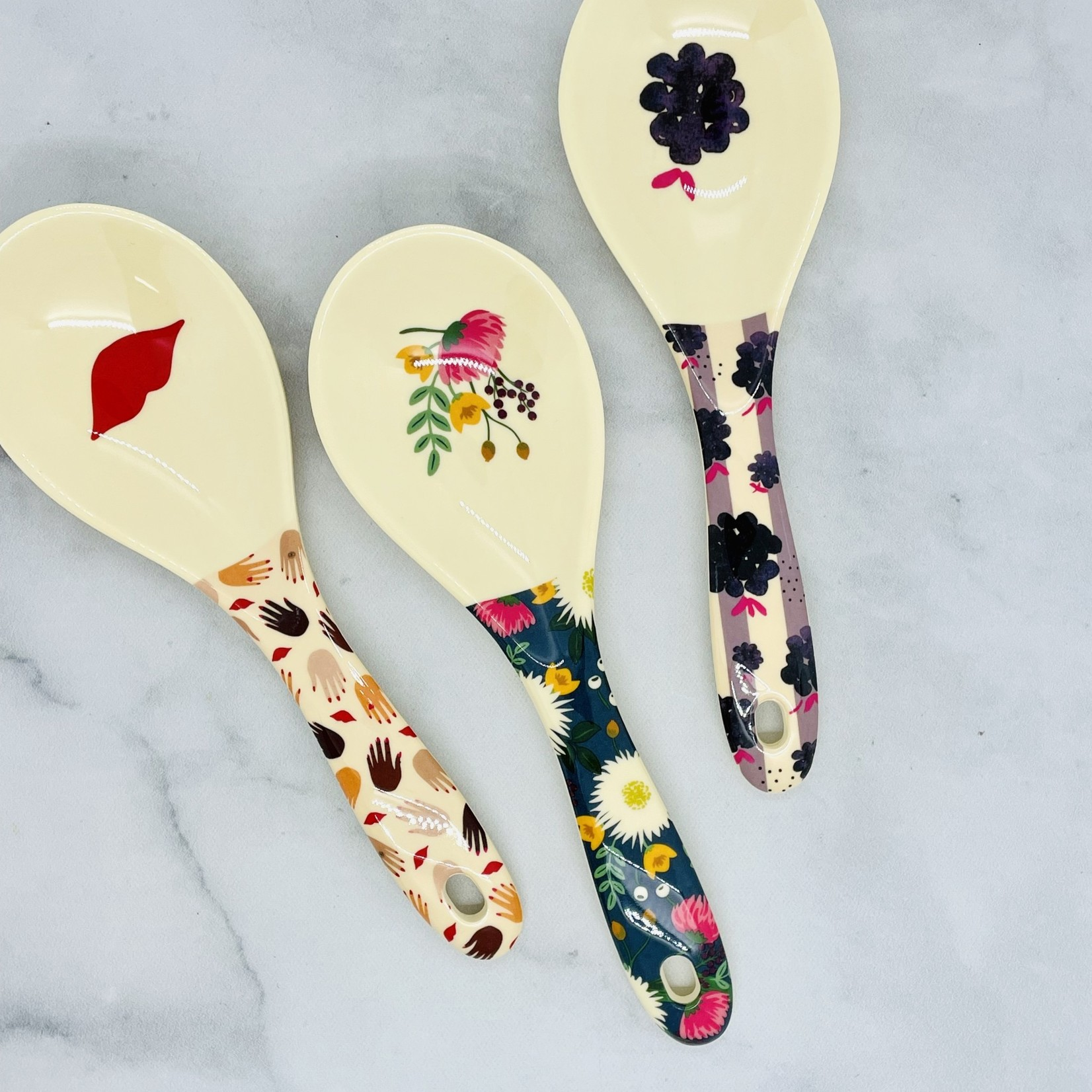 Rice by Rice Melamine Large Spoon