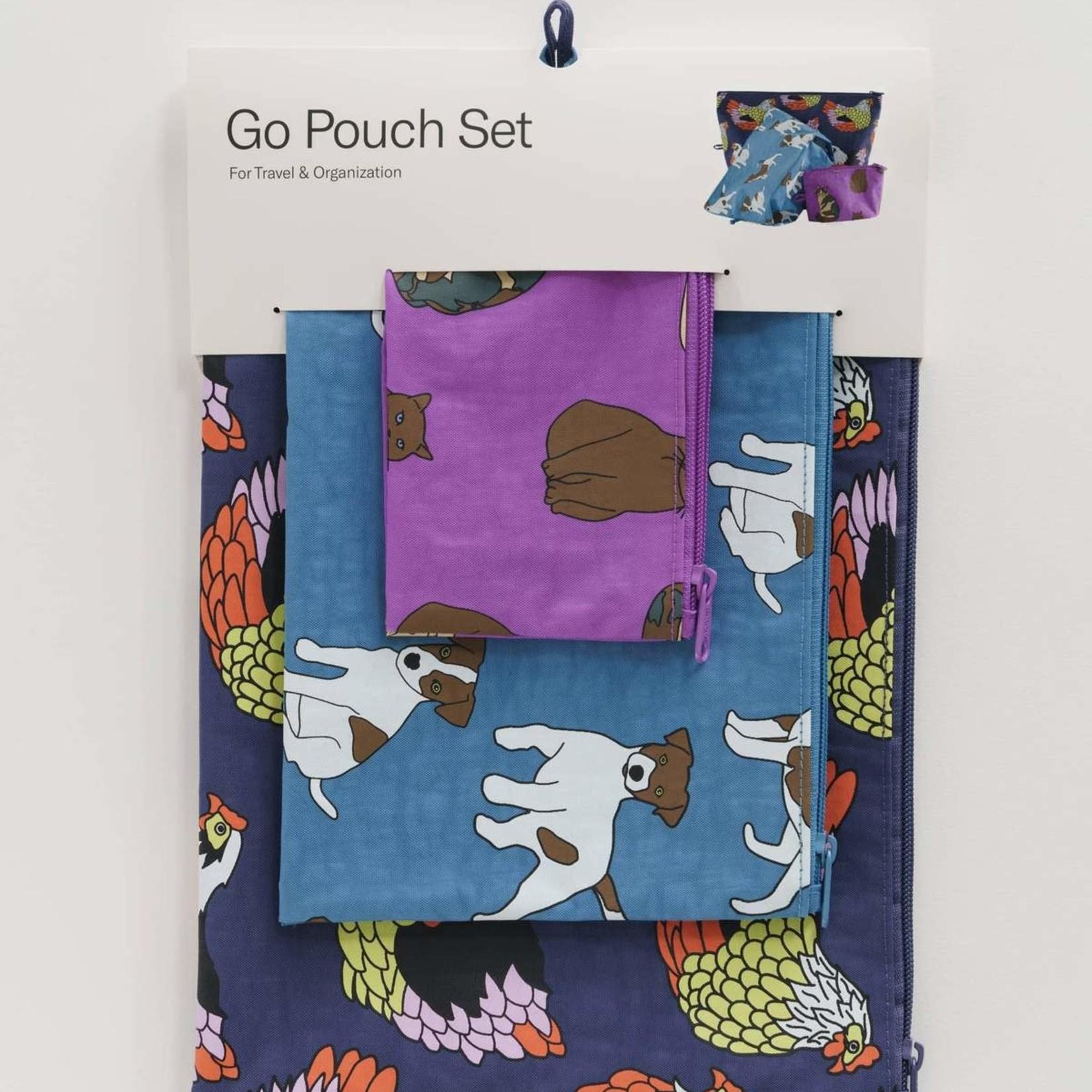 Garden Pets Go Pouch Set