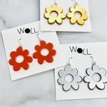 Woll Small Mod Flower Earrings