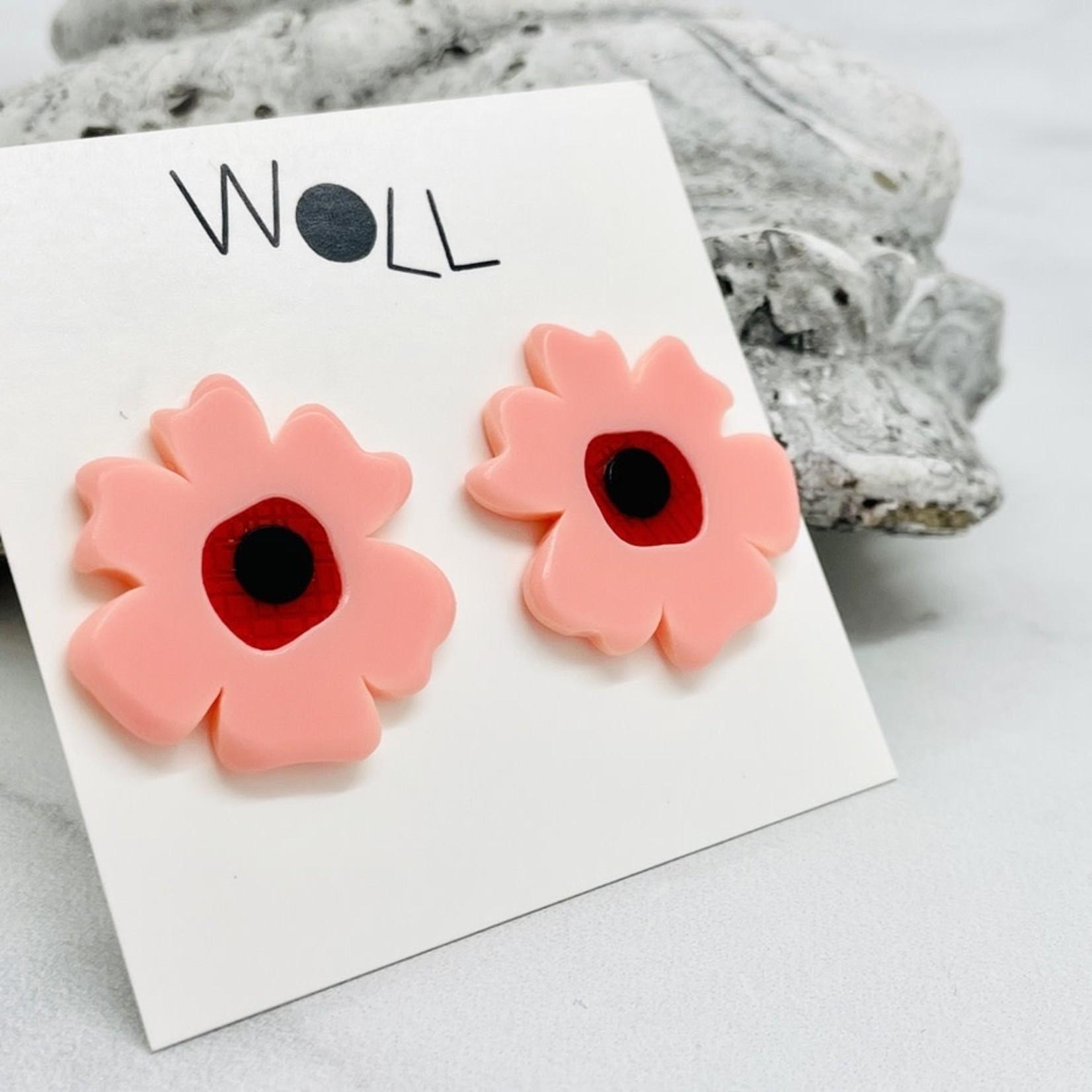 Woll Poppy Post Earrings