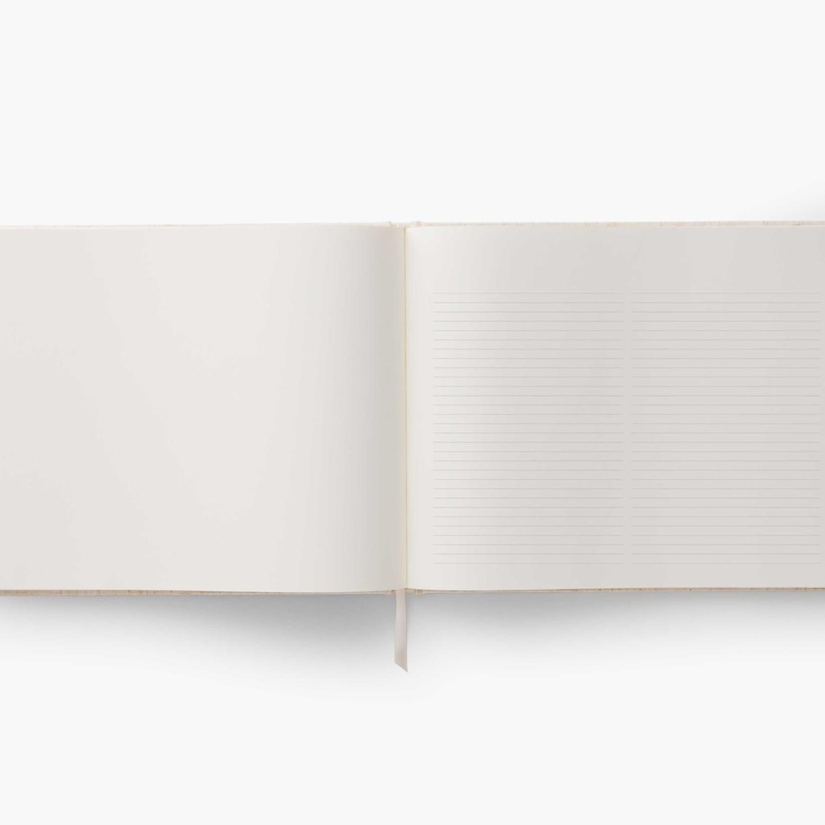 Wildwood Emdriodered Guest Book