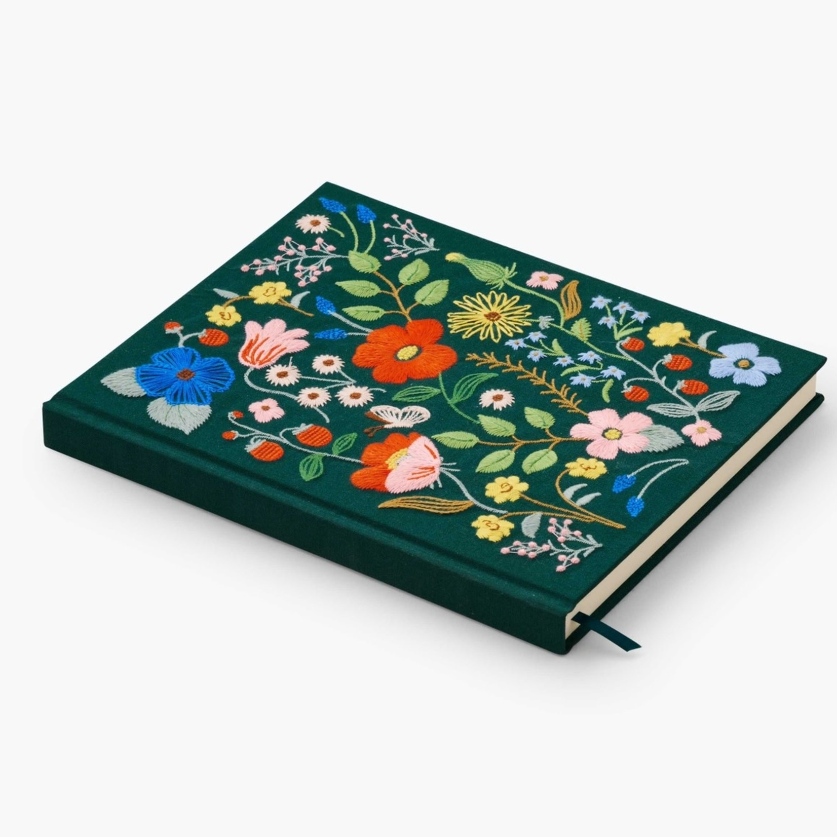Strawberry Fields Embroidered Sketchbook
