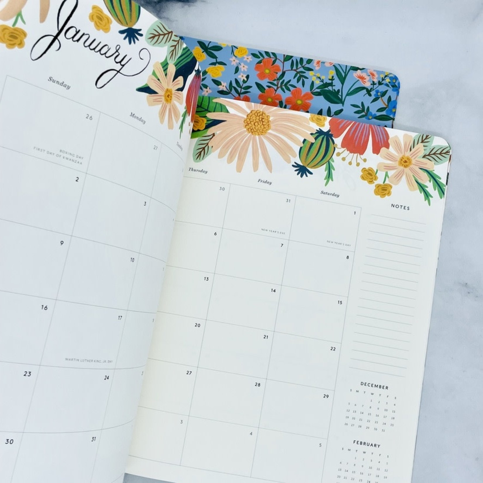 Rifle Paper 2022 Monthly Planner