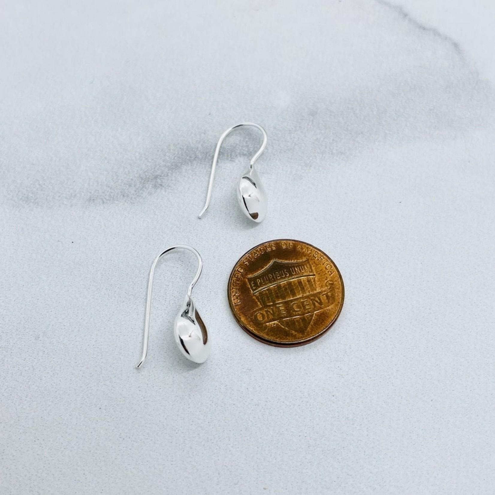 Sterling Silver Teardrop Fixed Earring