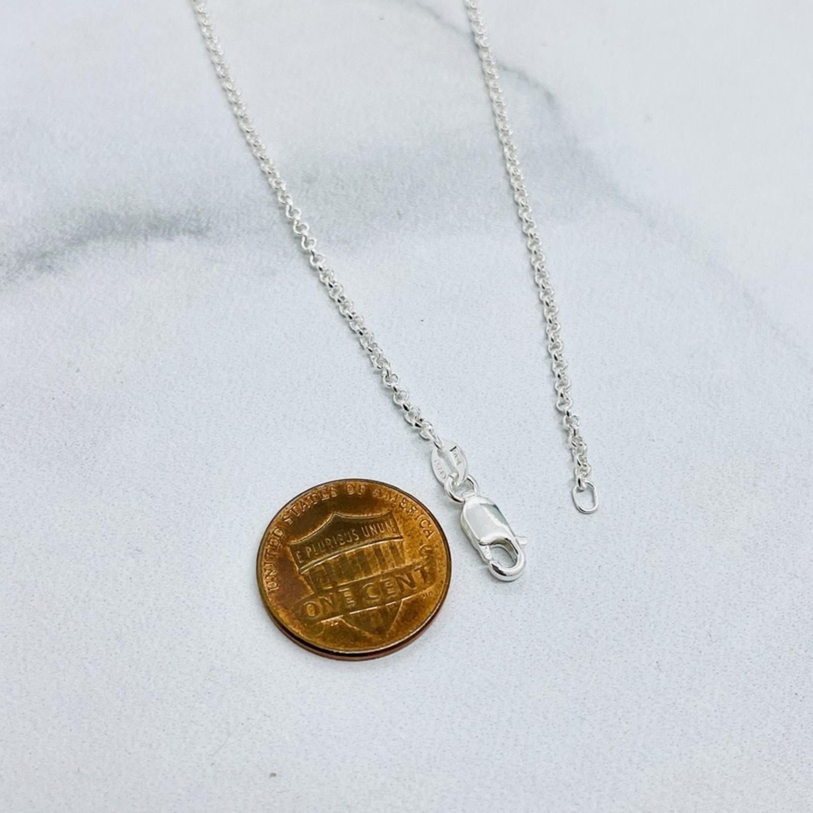 Silver Bramble Jewelry Handmade Rabbit Burrow Necklace in Silver