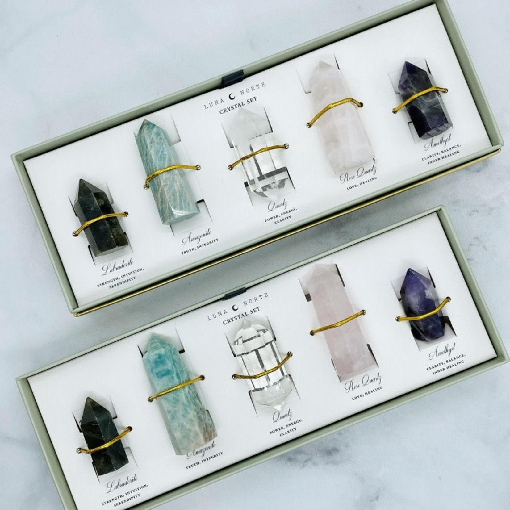 Luna Norte Made of Magic Crystal Set
