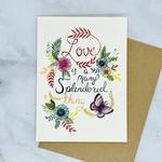 Marika Paz Illustration Love is a Many Splendored Thing Card