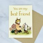 Marika Paz Illustration You Are My Best Friend Card