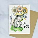 Marika Paz Illustration For You Greeting Card