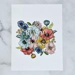 """Marika Paz Illustration Read All The Books Print 8.5"""" x  11"""""""