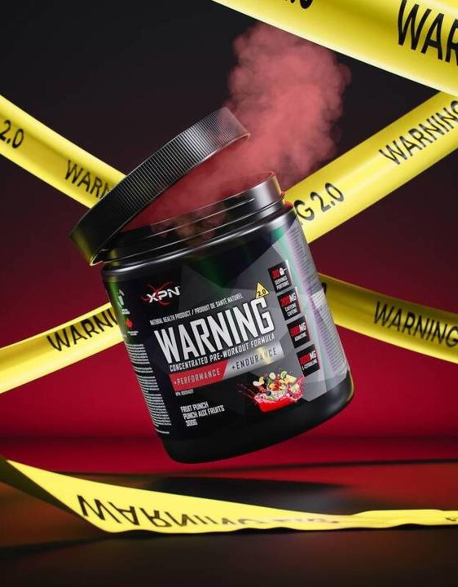 XPN NUTRITION WARNING