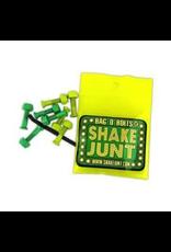 """Shake Junt Bag-O-Bolt 7/8"""" Allen Green/Yellow"""