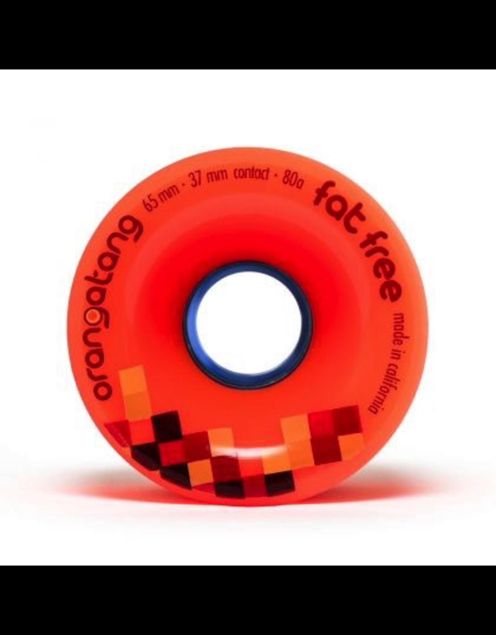 Orangatang Fat Free 80A 65mm wheels