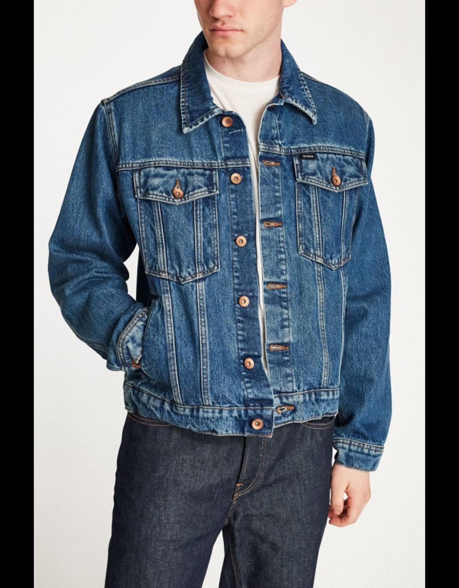 Brixton Cable Denim Jacket