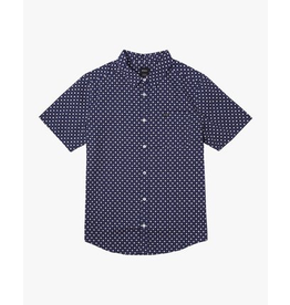 RVCA Gauze Dot Button-Up Shirt