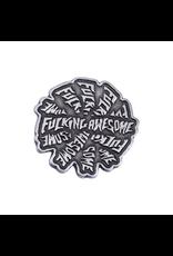 Fucking Awesome Spiral Pin