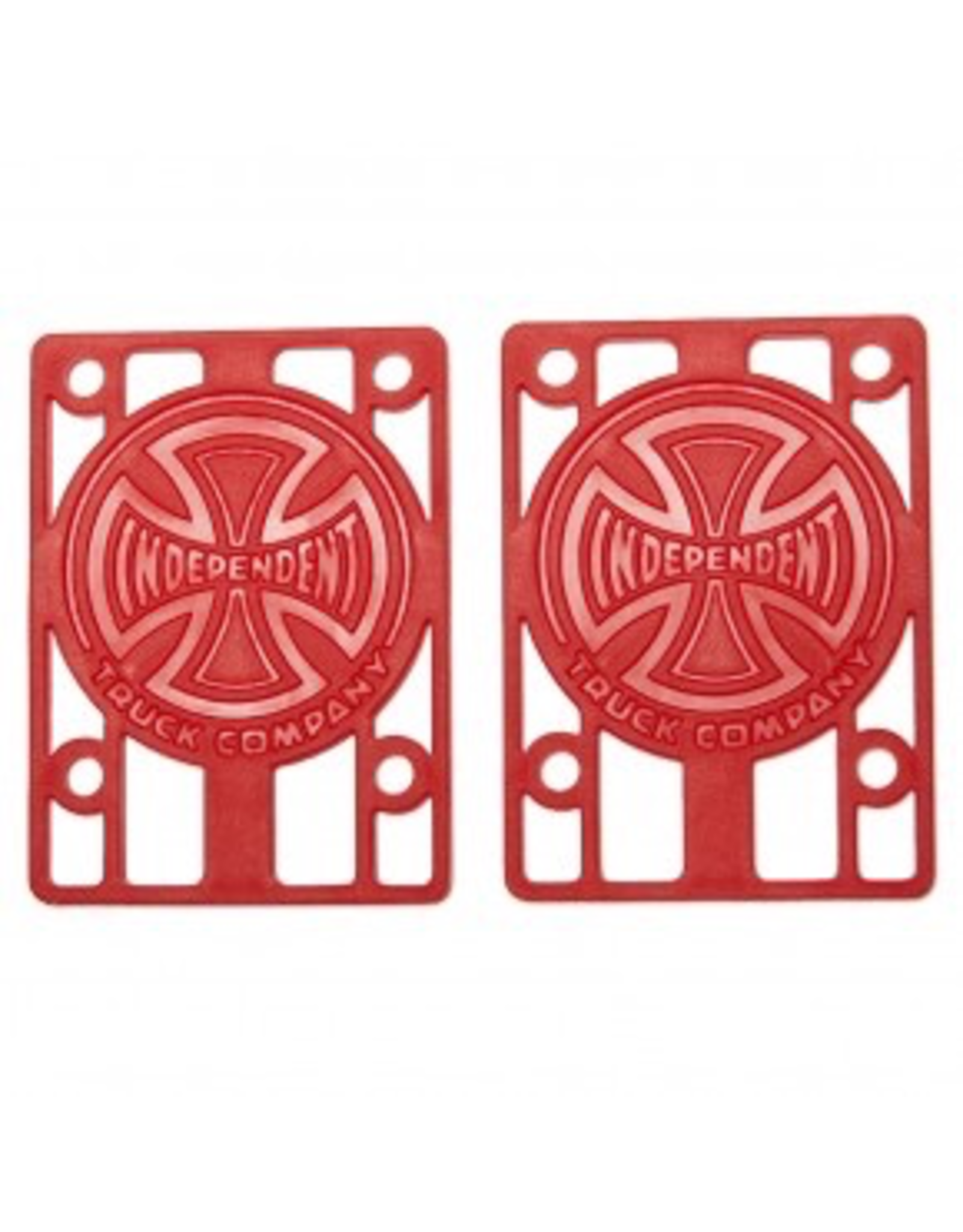 Independent Risers 1/8in Red