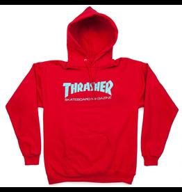 Thrasher Skate Mag Hoodie - Red