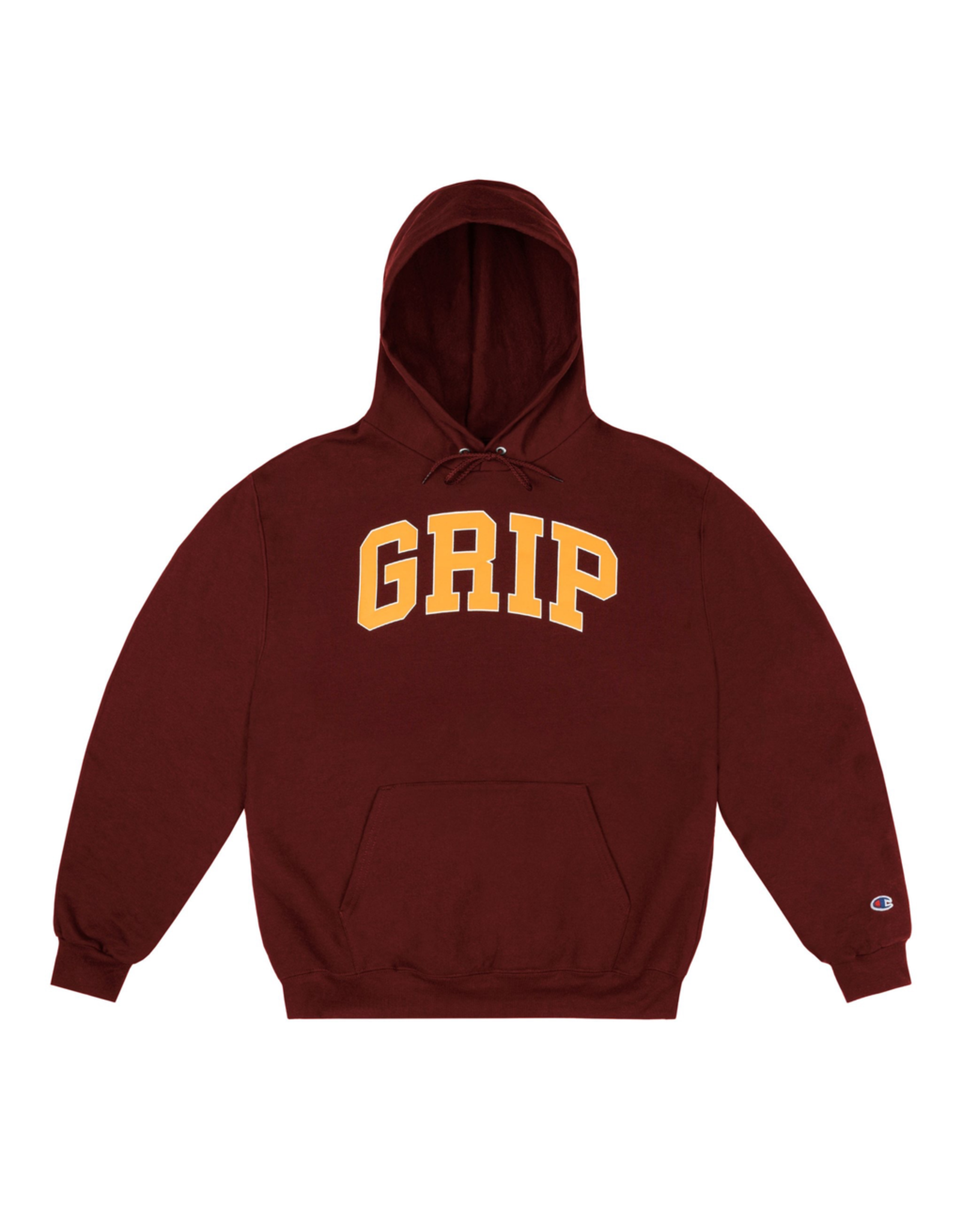 Classic Grip Hoodie With 90s Puff Print