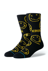 Stance Nirvana Face - Black