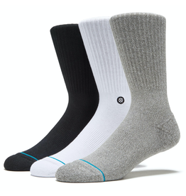 Stance Icon 3 Pack Socks - Multi