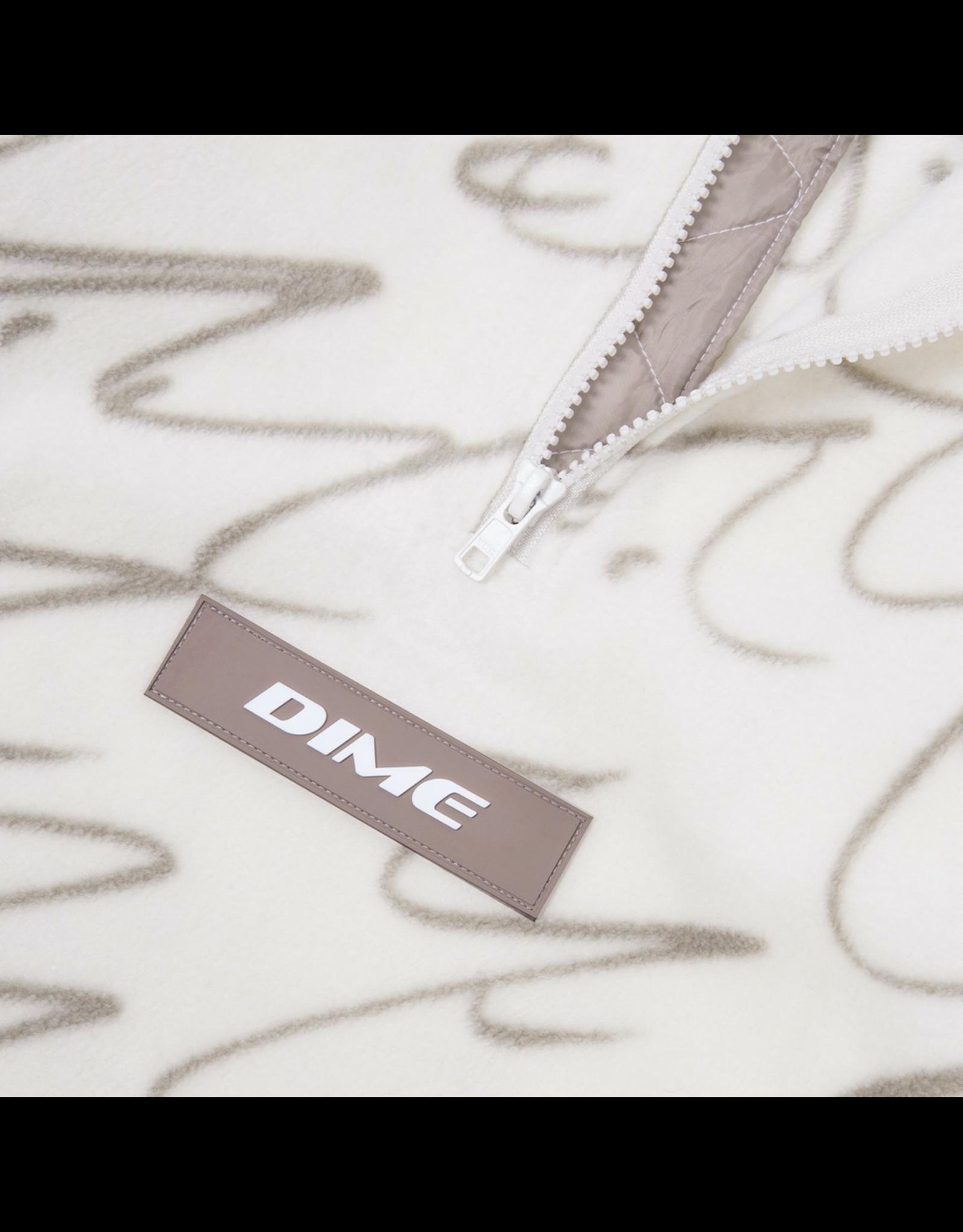 Dime Faces Quarter Zip Fleece