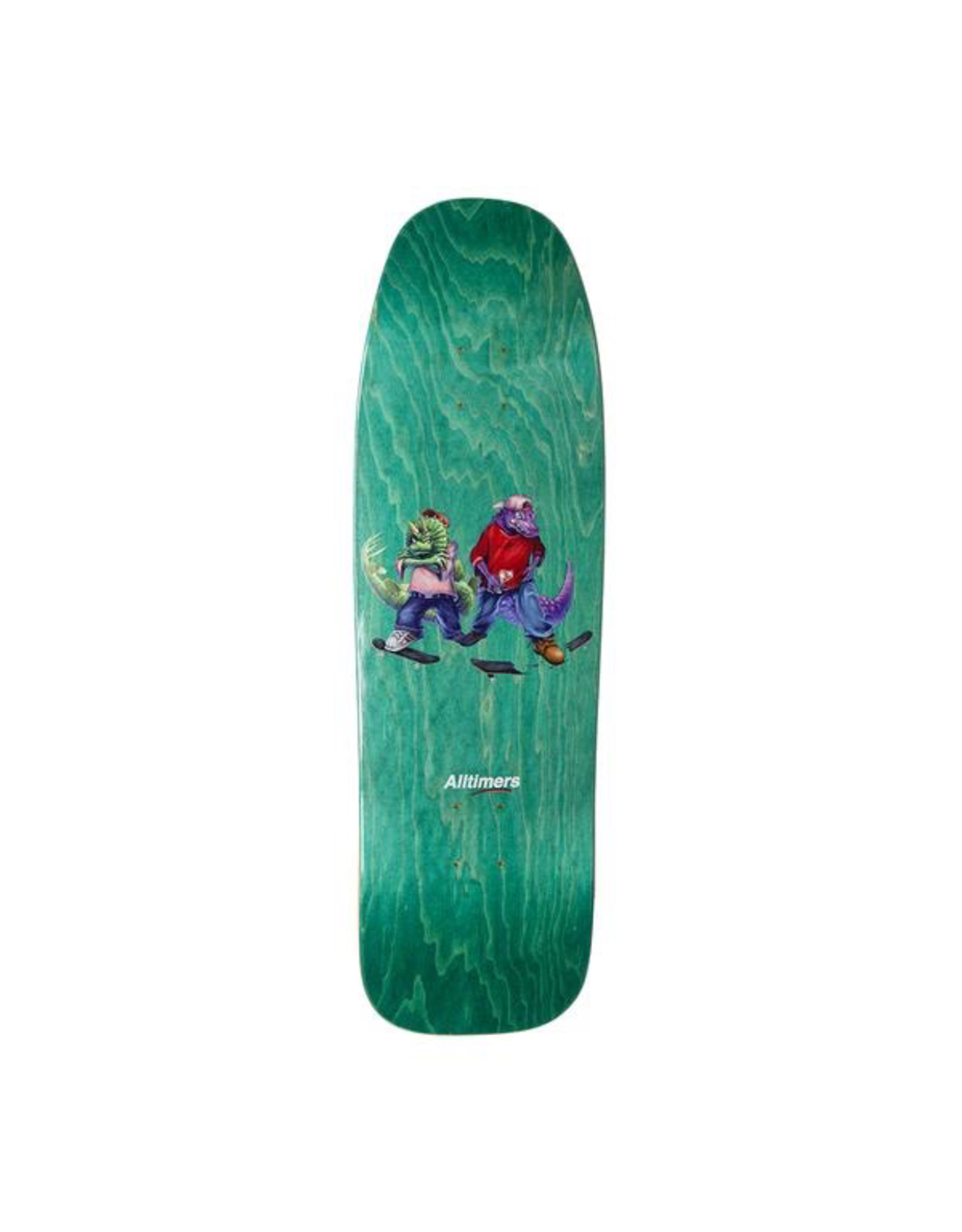 Alltimers Fossil Gang Cruiser Teal 9.25""