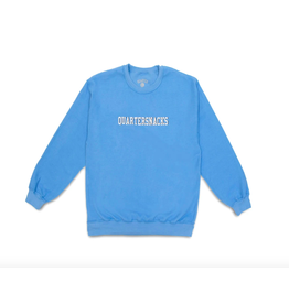 QuarterSnacks Inside Out Embroidered Crewneck