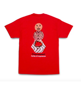 QuarterSnacks Smokers Warning Snackman Tee