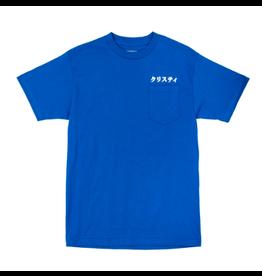 Polar Japanese Pocket Logo T-Shirt - Royal Blue