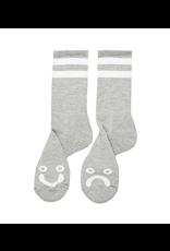 Polar Happy Sad Socks - Sport Grey