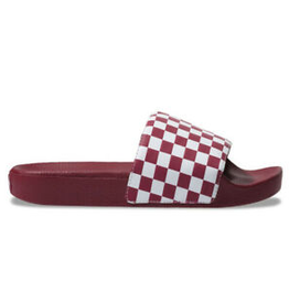 Vans Slide-On - Red Checkerboard