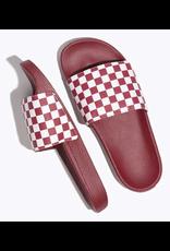 Vans Slide-On - Red Checkerboard