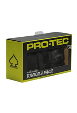 Pro-Tec Street Gear 3-Pack Junior - Black