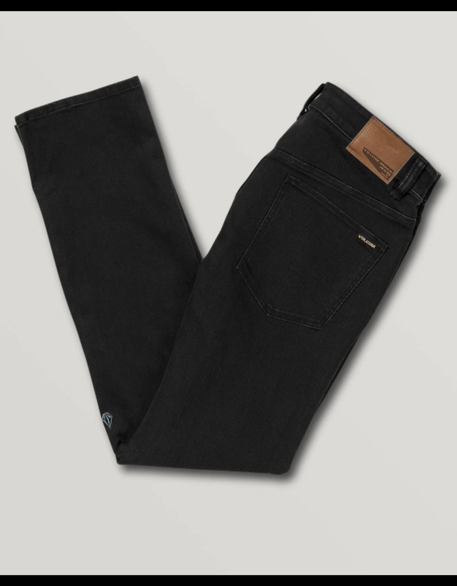 Volcom Solver Modern Fit Jeans - Blackout