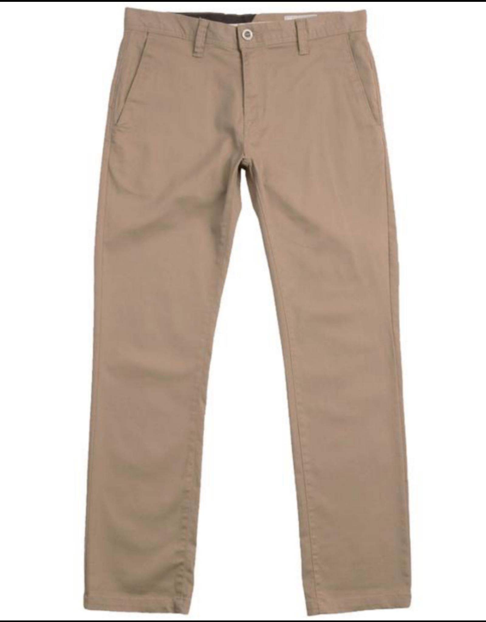 Volcom Frickin Modern Stretch Pants - Khaki