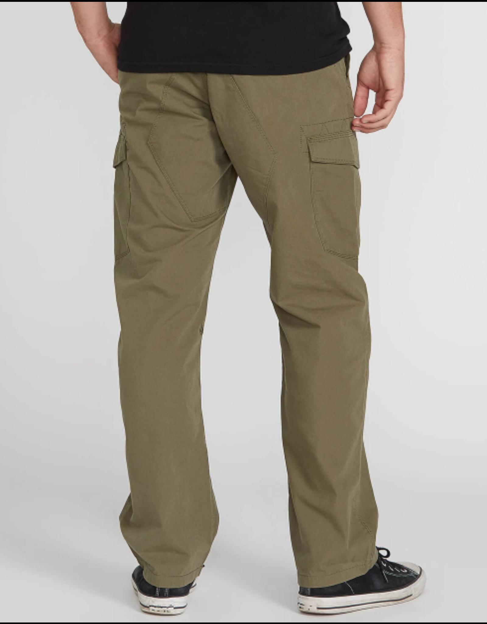 Volcom Miter II Cargo Pants - Army Green Combo