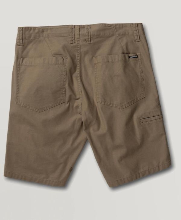 Riser Shorts - Beige