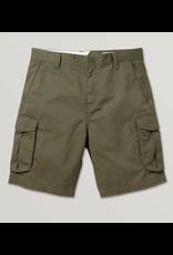 Volcom Bevel Cargo Shorts - Military