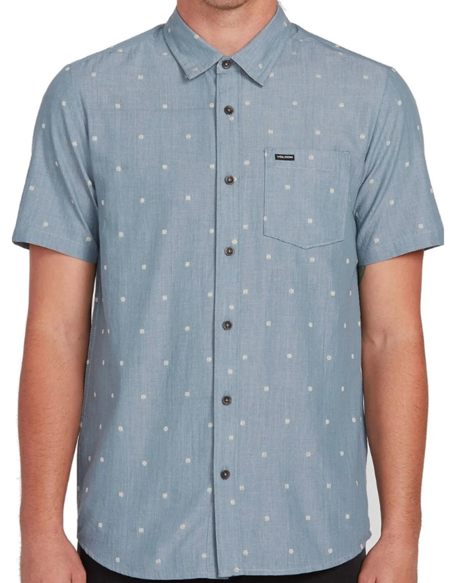 Volcom Archive Mark Shirt - Stormy Blue