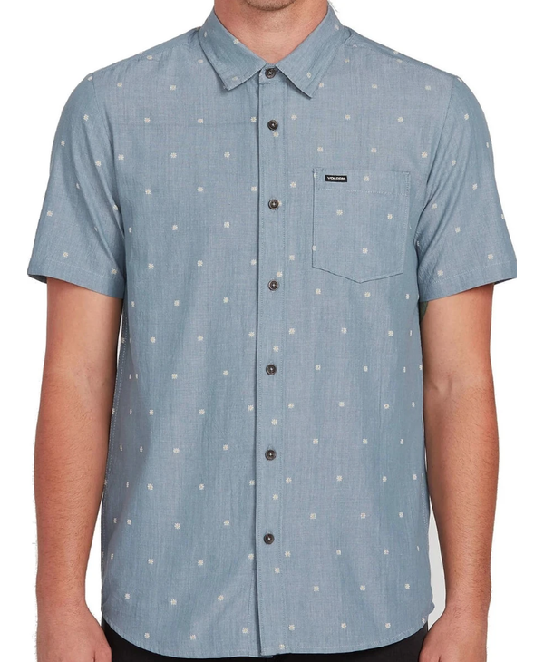 Archive Mark Shirt - Stormy Blue