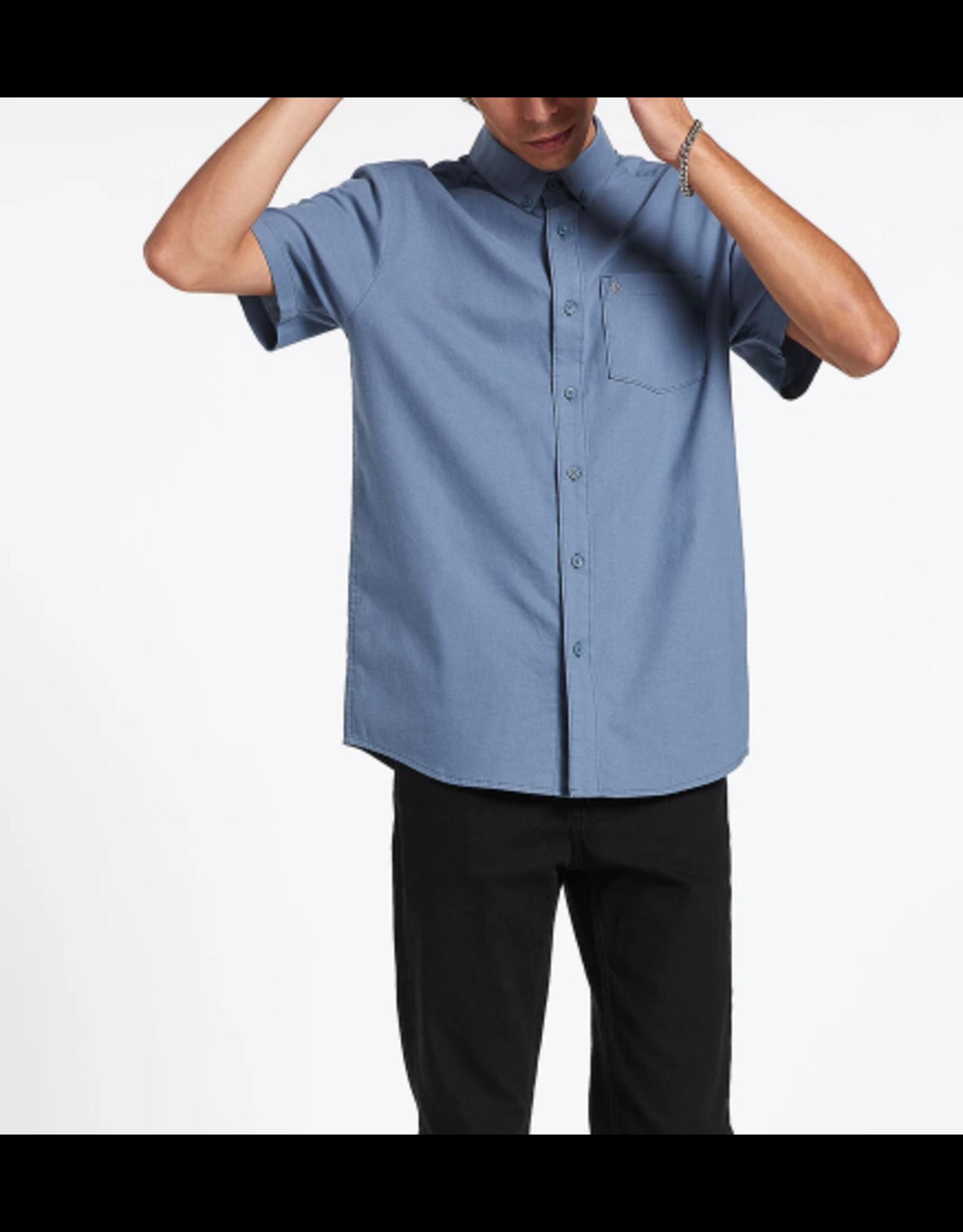 Volcom Everett Oxford Shirt - Stormy Blue