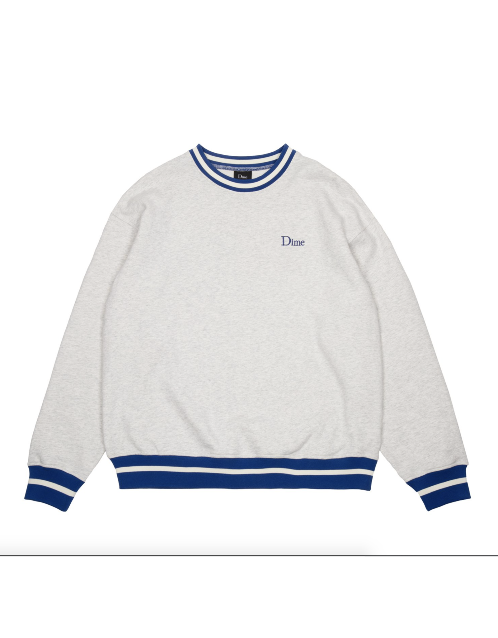 Dime Classic French Terry Crewneck - Ash