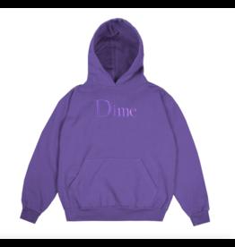 Dime Classic Logo Hoodie - Purple