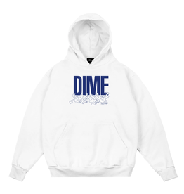 Dime Support Hoodie - White